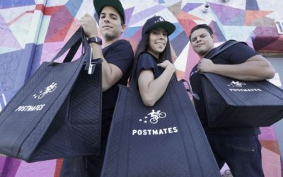 US startups such as Postmates aren't just delivering food, they're opening kitchens too