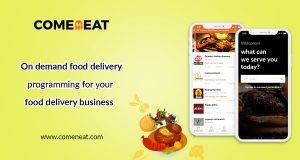 comeneat - food ordering system