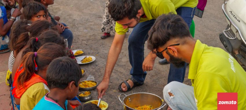 Zomato acquires Feeding India to weed out food wastage