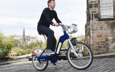 An electric bike – at a Just Eat hire station soon